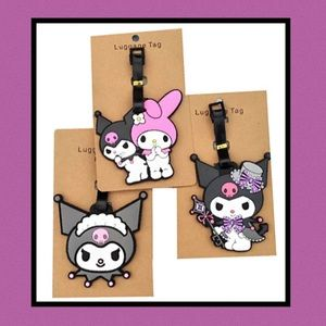 Kuromi has her own line of Luggage tags! NWT